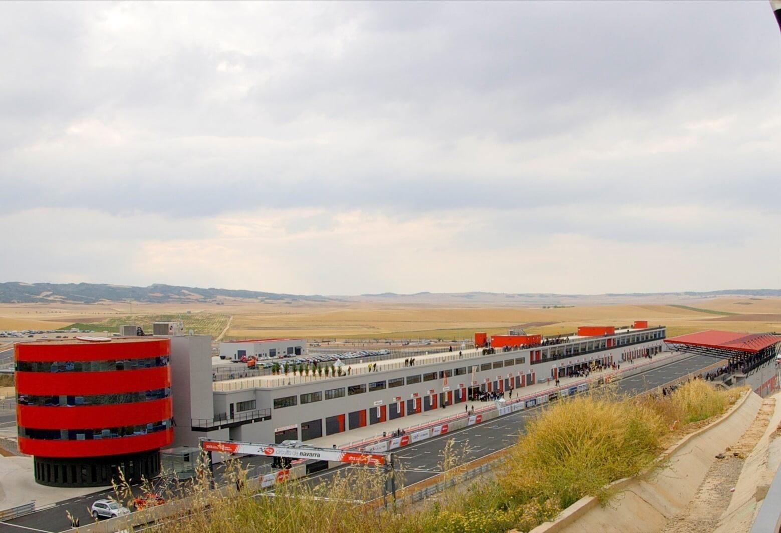 Circuito de velocidad de Navarra Los Arcos