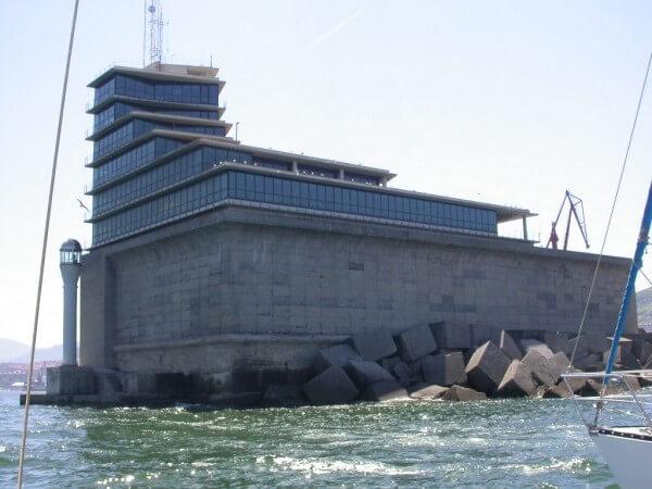 Centro de control de tráfico marítimo