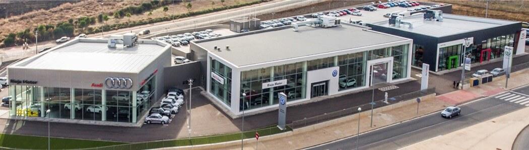 Concensionario Audi, Volswagen y Skoda