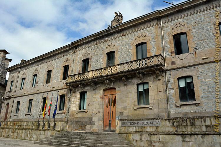 Palacio de justicia Bergara