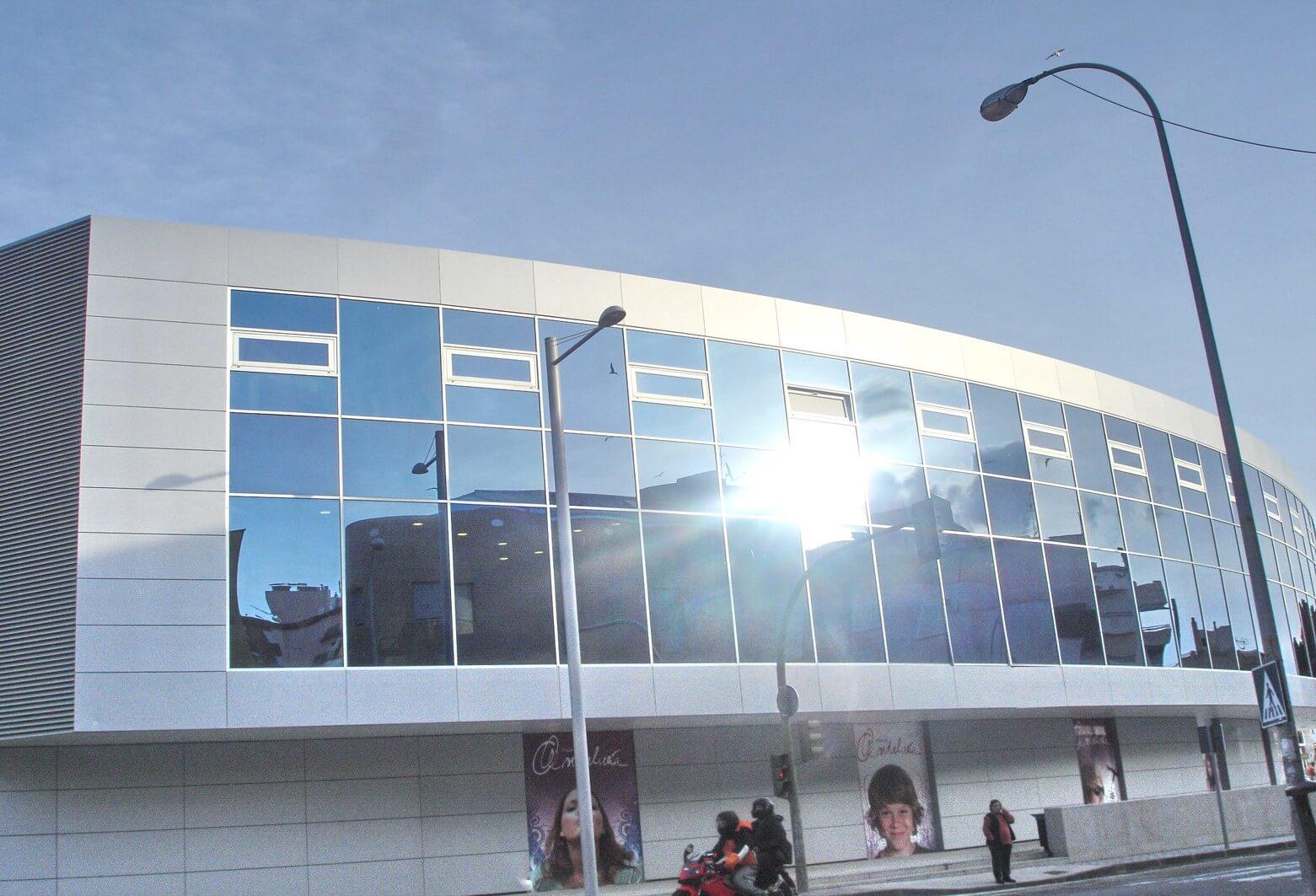 Edificio comercial plaza Andalucía Algeciras
