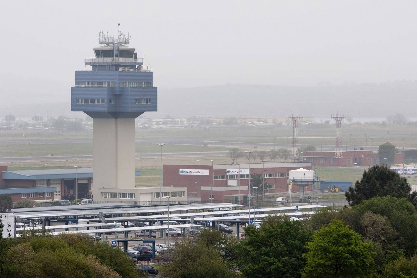 Torre de control Aeropuerto Santander